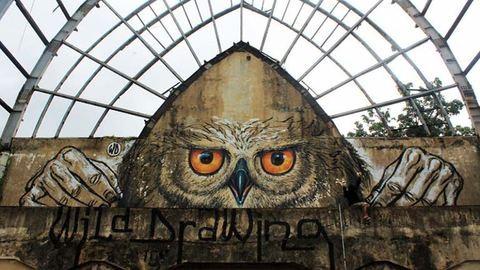 Lenyűgöző street art alkotások – fotók