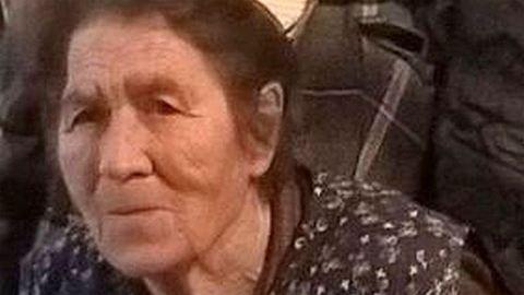 Eltűnt egy nyolcvankét éves néni