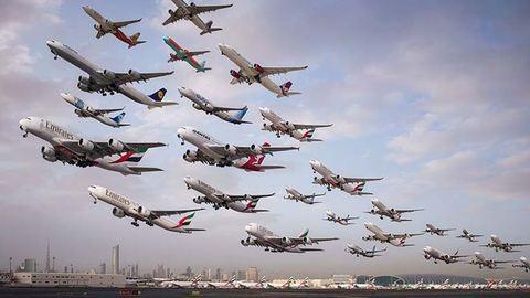 Ezeken az elképesztő légiforgalmi képeken két évig dolgozott egy fotós