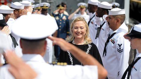 Űrhajós akart lenni és katona: 69 éves Hillary Clinton