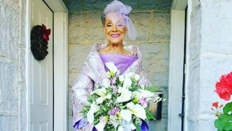 Egyszerűen imádjuk Millie-t, a 86 éves menyasszonyt