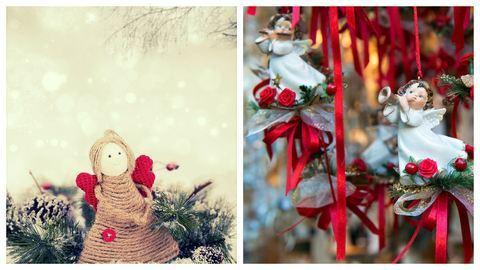 10 karácsonyi angyalkás dísz