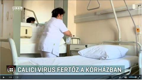Calicivírus fertőzi az egyik miskolci kórház betegeit