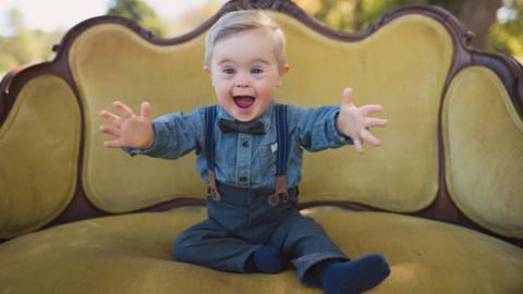 Esélyt se kapott a modellügynökségtől a kisfiú, mert Down-szindrómás