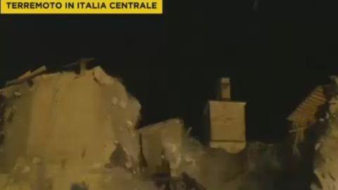 Ismét földrengés pusztított Közép-Olaszországban
