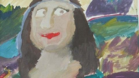 Gyerekek alkották újra a világ leghíresebb festményeit