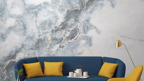 A lélegzetelállító, márványos tapéták luxust csempésznek az otthonokba