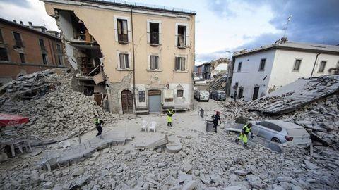 Ismét nagy erejű földrengés rázta meg Olaszországot