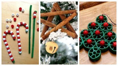 DIY: Gyerekekkel készíthető karácsonyi díszek