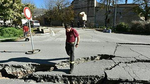 36 éve nem volt ilyen erős földrengés Olaszországban