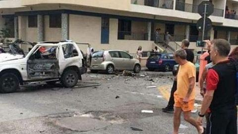 Pokolgépes merénylet Máltán, egy halott – így néz ki most a robbantás helyszíne!