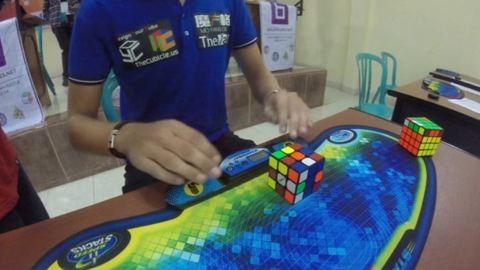 Kevesebb mint 5 mp a Rubik-kocka új világrekordja