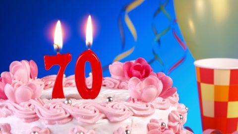 70. házassági évfordulóját ünnepelte Karcsi bácsi és Rozika néni