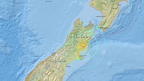 7.4-es erősségű földrengés volt Új-Zélandon