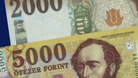 Így néz ki az új 2000 és 5000 forintos