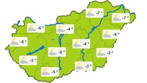 Kegyetlen hideg lesz a héten