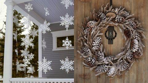 Így dekoráld a lakásodat/házadat kívülről karácsonykor