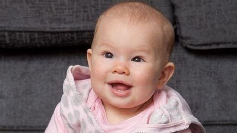 Saját magától ült bilire az öt hónapos kislány