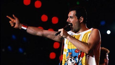 Freddie Mercury hangszerek nélkül is úgy szól, mint a mennyek harsonái