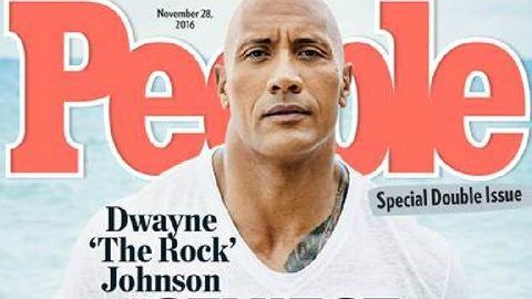 Ő a világ legszexisebb pasija: a People Dwayne Johnsonra szavaz