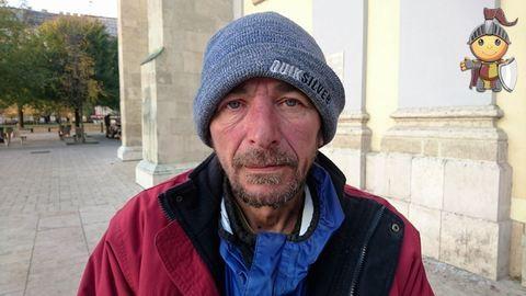 Adjkirály!: Zoli 17 éve hajléktalan, de a címe mindvégig ugyanaz volt