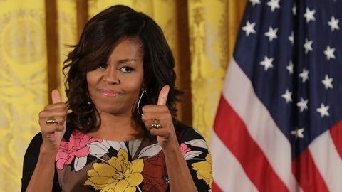 Magassarkús majomnak nevezték Michelle Obamát