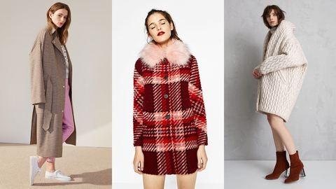 11 divatos, nem fekete télikabát