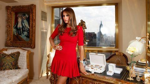 Húzzák a szájukat a neves divattervezők Melania Trumpra