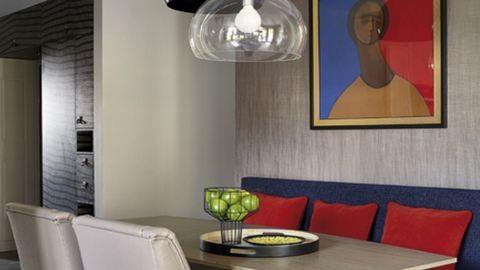 Festmények ihlette színes budai otthon