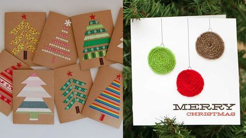Csináld magad: Küldj újra papíralapú karácsonyi képeslapot!
