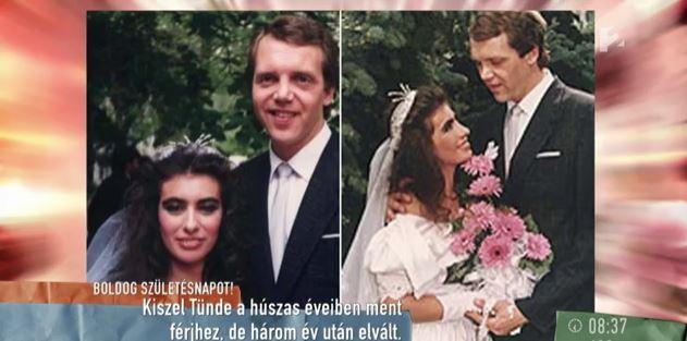 Kiszel Tünde esküvői képein rá sem ismersz