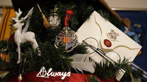 Az egész internet imádja a Harry Potter-es karácsonyfát!