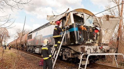 Durva vonatbaleset volt Nyúlon