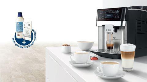A Bosch most nem csak a tökéletes kávéaromát biztosítja