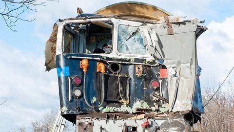 Tragédiává vált a nyúli vonatbaleset