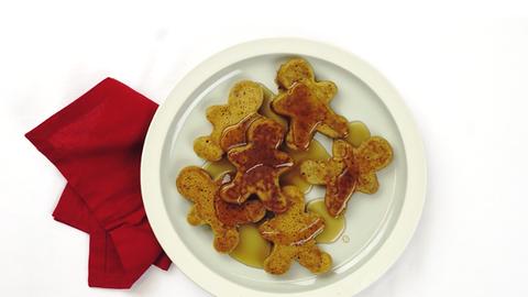 Mézeskalács-palacsinta karácsonyra – videó