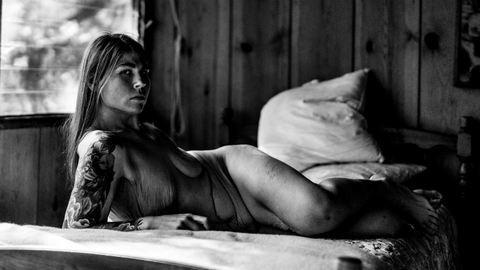 Aktokon örökítette meg fogyását a túlsúlyos fotós