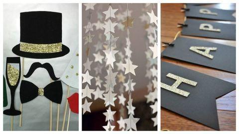 5 egyszerű szilveszteri dekoráció