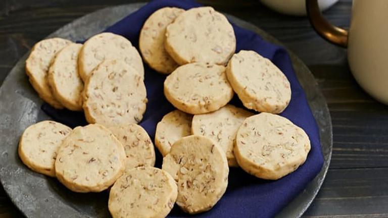 Édes és időtakarékos juharszirupos-pekándiós keksz
