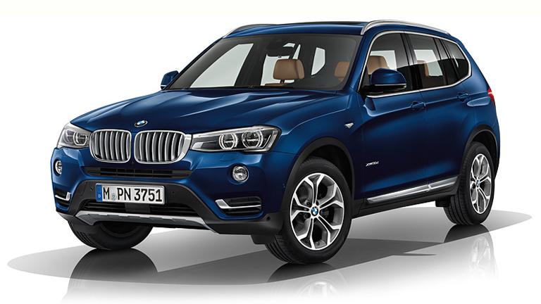 Az érintett BMW X3 (Fotó: BMW)