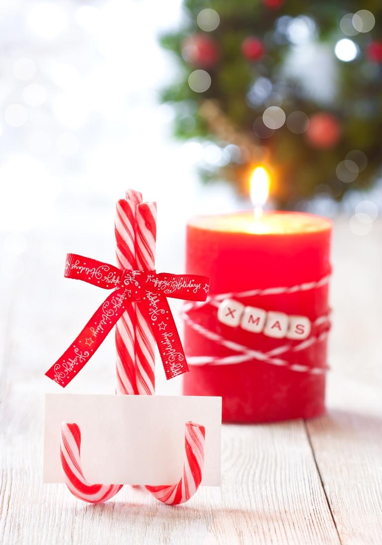 10 perces karácsonyi asztali dekoráció