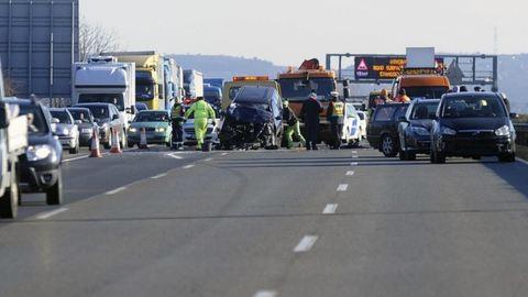 Óriási baleset: tíz autó ütközött össze az M1-es autópályán