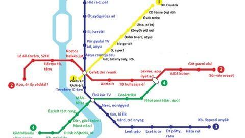 Ecet is úr – összekócolták a metrómegállók neveit
