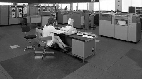 Így képzelték a jövő irodáját 1969-ben