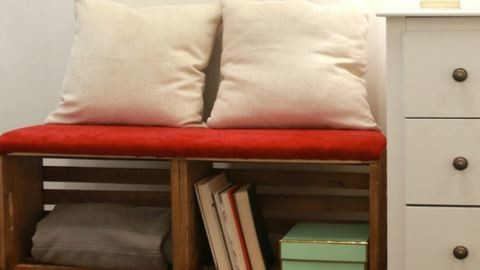 Készítsd el! 2 in 1: könyvespolc és ülőke!