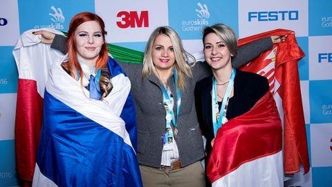 24 éves szegedi lány Európa 3. legjobb fodrásza