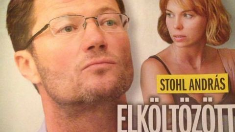 Stohl András elhagyta a családját, újra szerelmes