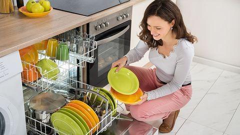 Így mosogatunk mi!