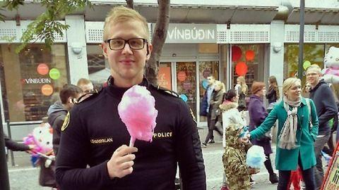 Az izlandi rendőröket már megint imádja a világ