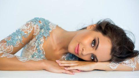 Tarolt Gelencsér Tímea produkciója a Miss World versenyen